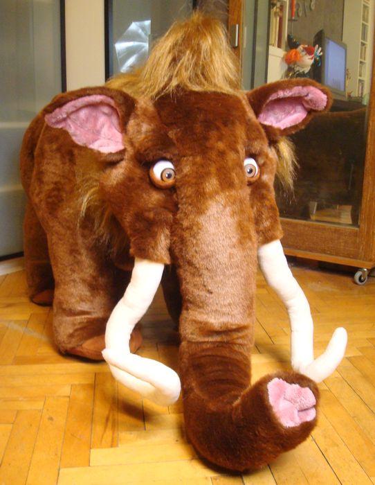 мягкая игрушка на заказ мамонт