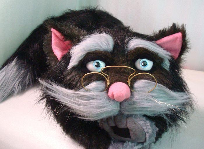 мягкая игрушка кот ученый