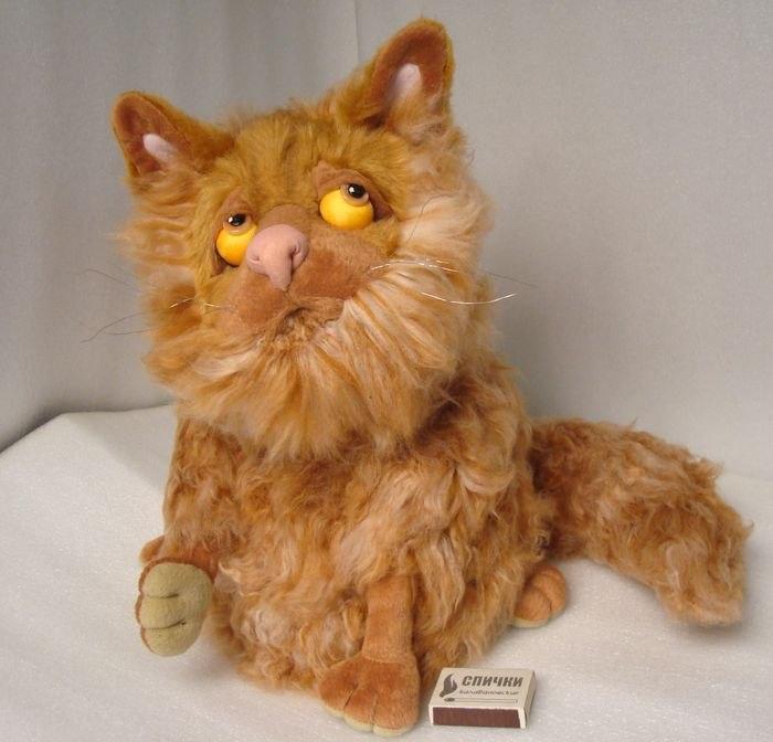 персидский кот игрушка