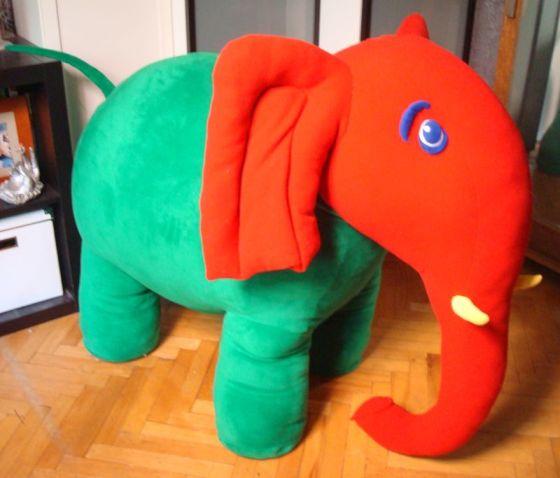 Детские слоны Большие игрушки Игрушки на заказ по фото, рисункам. Шьем от 1 шт.
