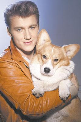 Алексей Воробьев и его собака Куклы Игрушки на заказ по фото, рисункам. Шьем от 1 шт.