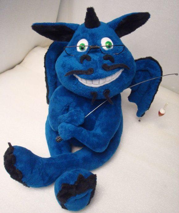 Дракон с портретным сходством Игрушки по рисункам Игрушки на заказ по фото, рисункам. Шьем от 1 шт.