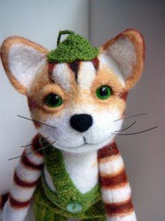 Котенок финдус игрушка