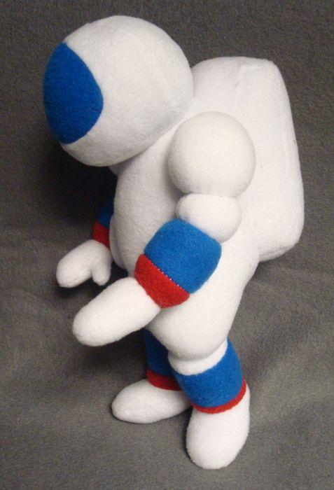 космонавт игрушка мягкая