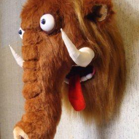 Мамонт голова игрушка