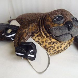 Тюлень сноубордист Игрушки по рисункам Игрушки на заказ по фото, рисункам. Шьем от 1 шт.