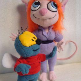 Гайка и Вжик Мультфильмы Игрушки на заказ по фото, рисункам. Шьем от 1 шт.