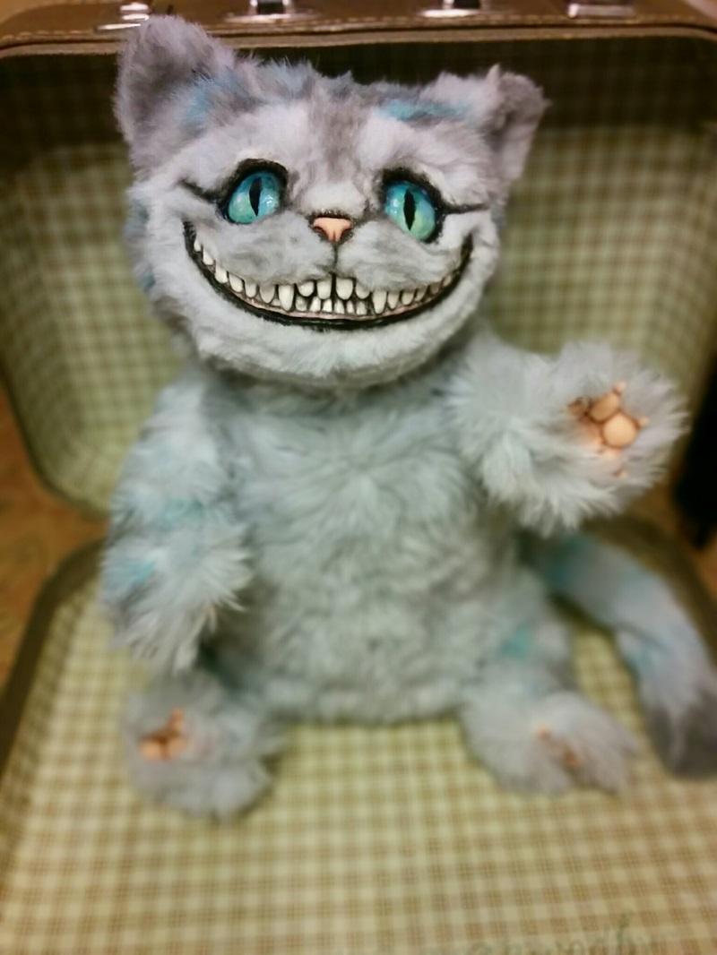 Чеширский кот игрушка