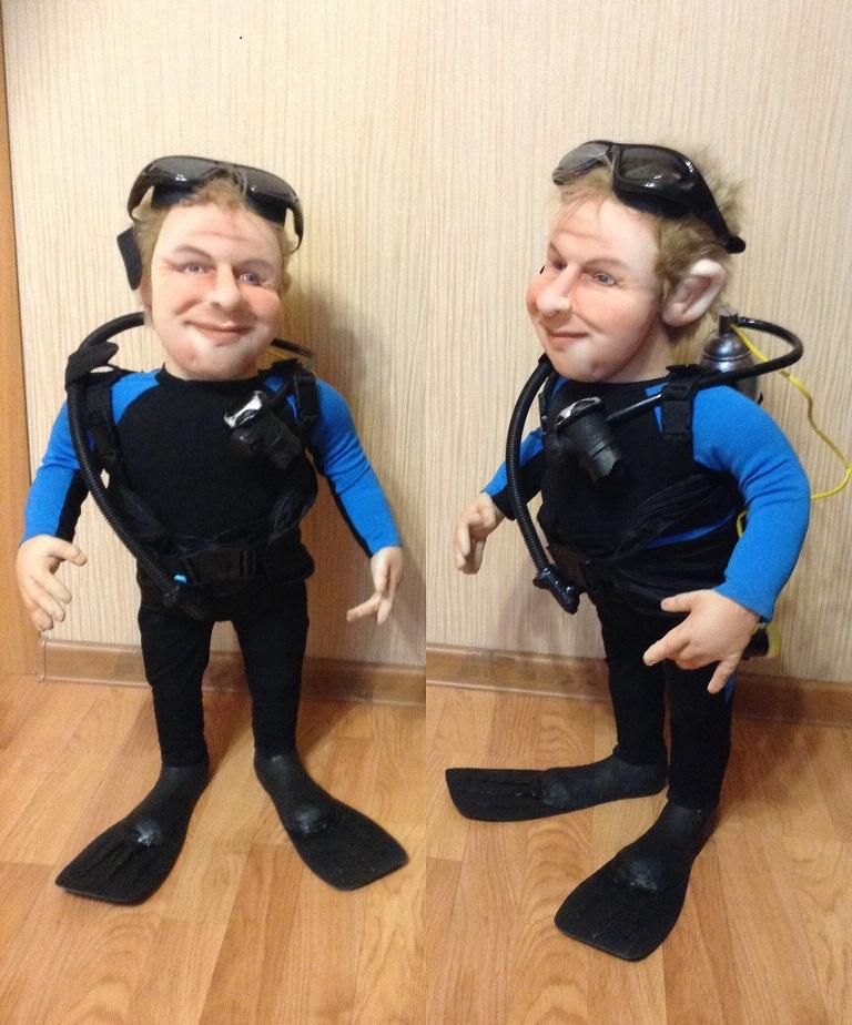 Кукла дайвер