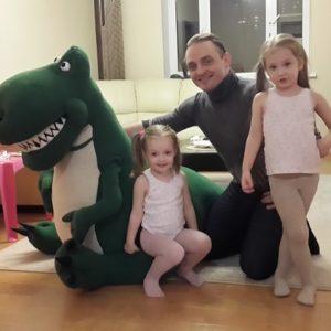 Домашний динозавр Большие игрушки Игрушки на заказ по фото, рисункам. Шьем от 1 шт.