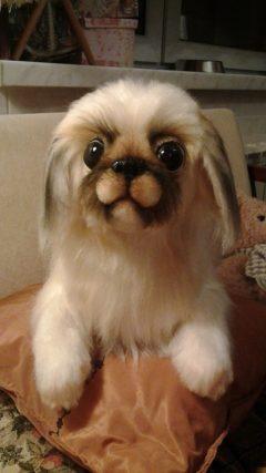Собака пекинес Питомцы Игрушки на заказ по фото, рисункам. Шьем от 1 шт.