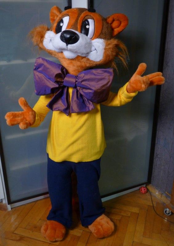 Кот Леопольд мягкая игрушка