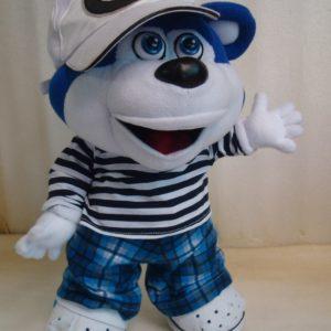 Синий медведь Игрушки по рисункам Игрушки на заказ по фото, рисункам. Шьем от 1 шт.