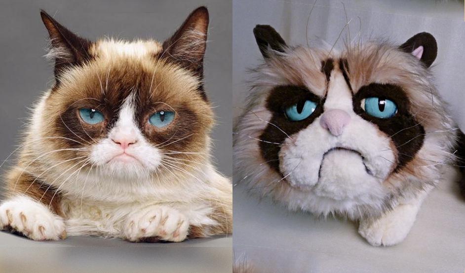 grumpy cat игрушка