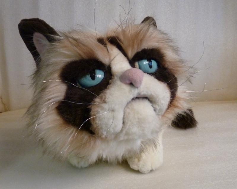 grumpy cat игрушка купить
