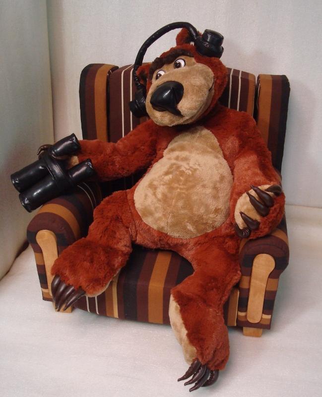 маша и медведь мягкая игрушка