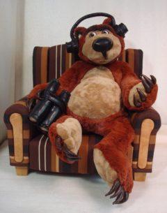 """Медведь из м/ф """"Маша и медведь"""" Мультфильмы Игрушки на заказ по фото, рисункам. Шьем от 1 шт."""