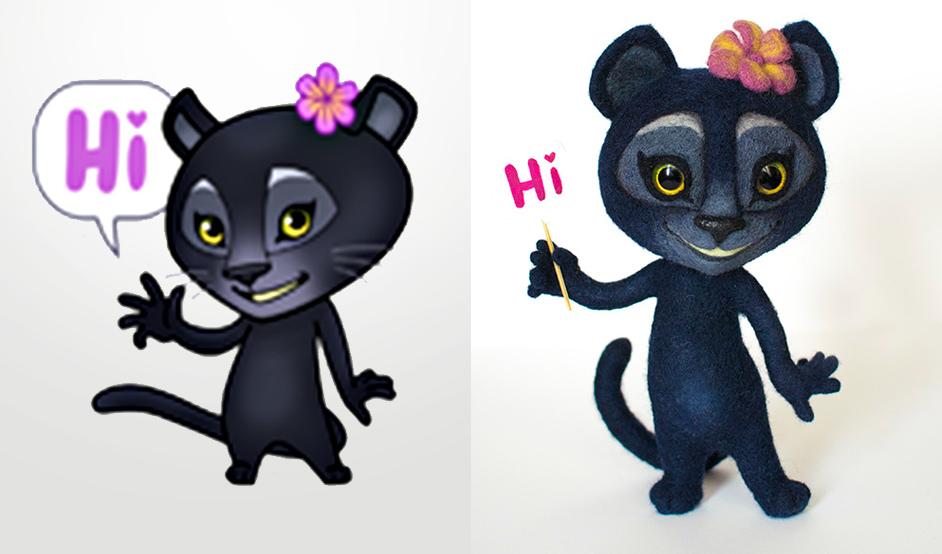 пантера viber игрушка