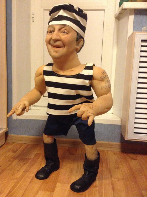 кукла шарж на заказ