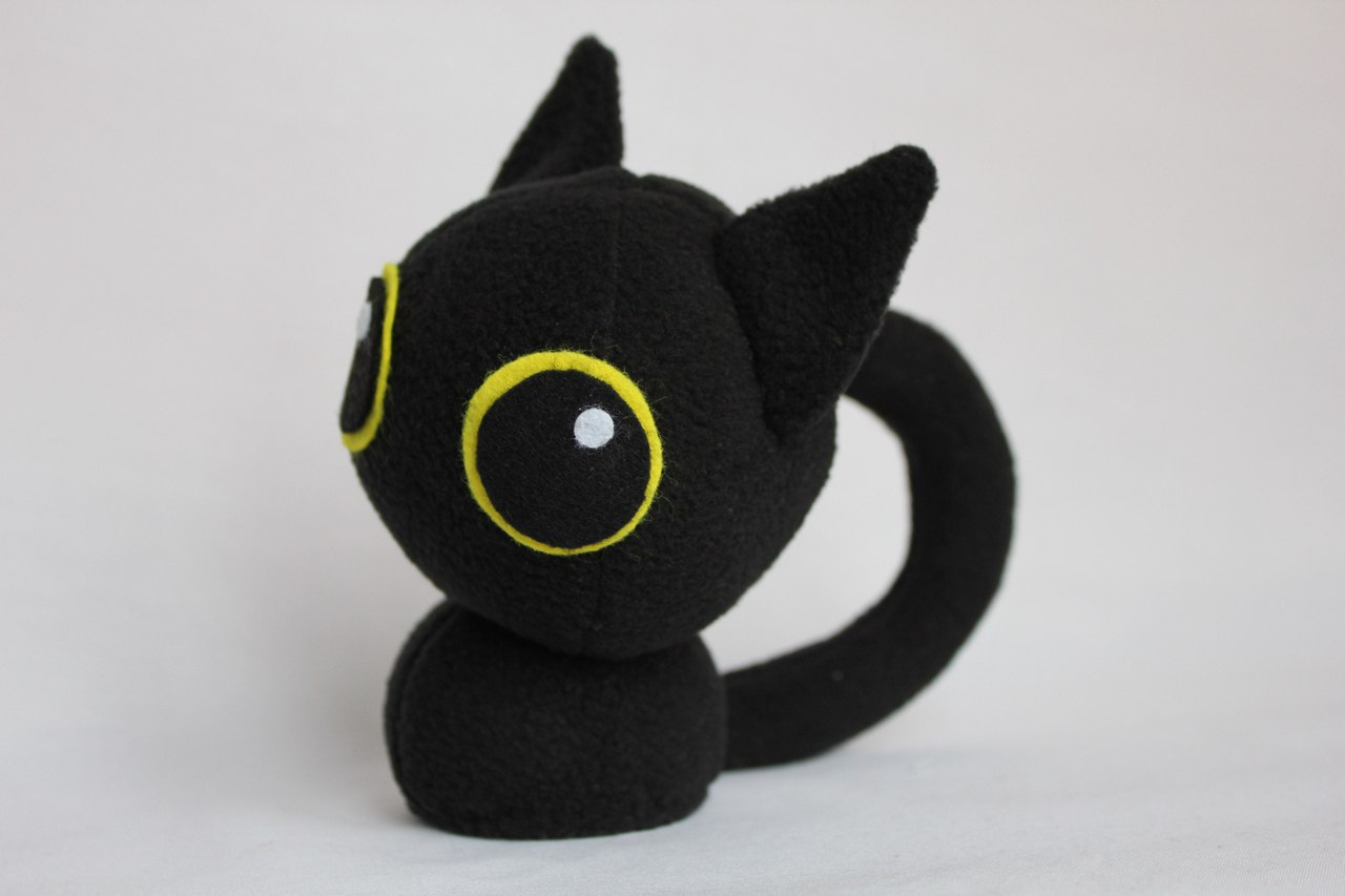Котик глазастый мягкая игрушка