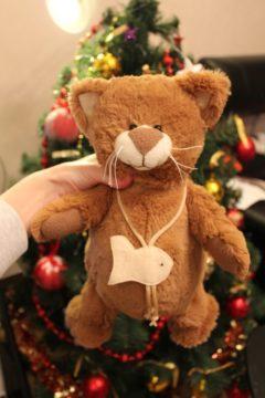 Котик игрушка - восстановление потеряных игрушек