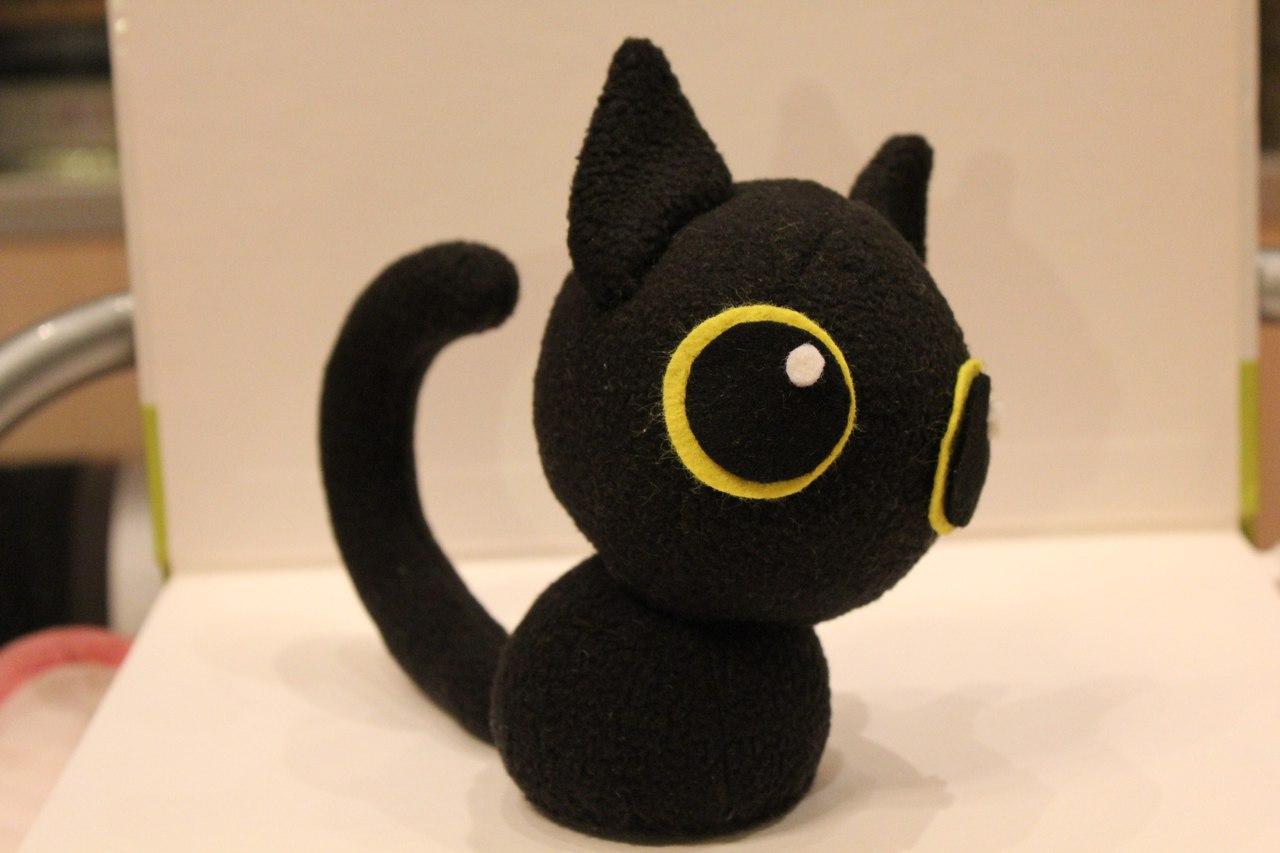 Котик игрушка - создание копий игрушек по образцам