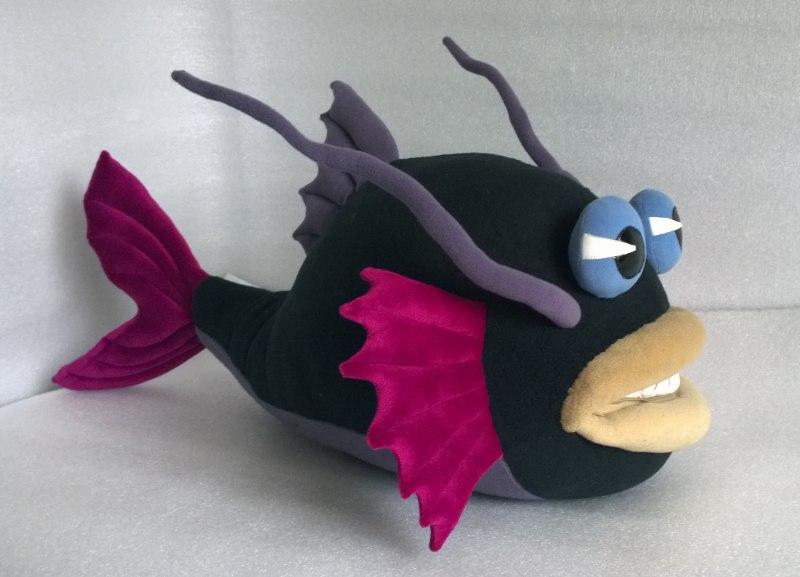 игрушка по рисунку чудо рыба