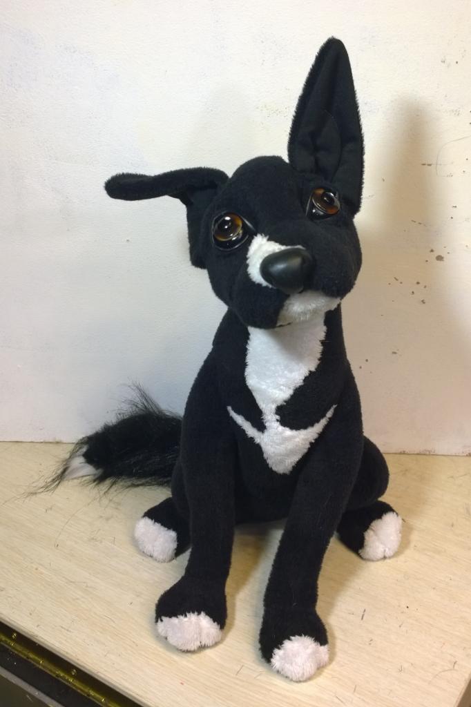 собака игрушка по фото