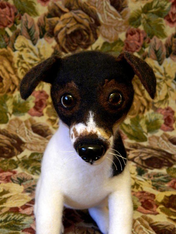 Собака Джек Рассел Питомцы Игрушки на заказ по фото, рисункам. Шьем от 1 шт.