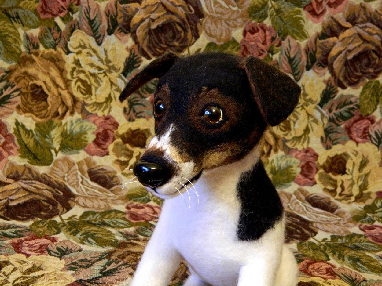 собака Джек Рассел изготовление кукол собак