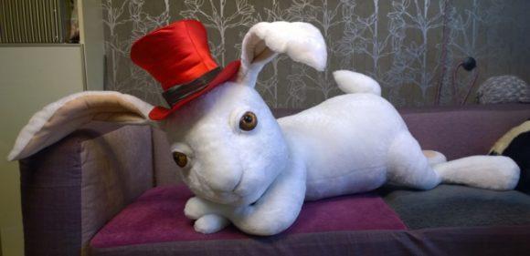 Кролик игрушка для театра