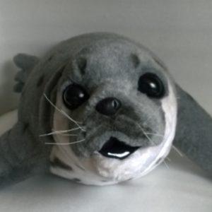 Тюлень игрушка на заказ Игрушки по рисункам Игрушки на заказ по фото, рисункам. Шьем от 1 шт.