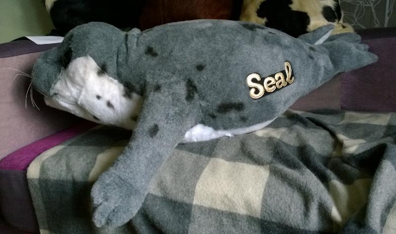 Тюлень игрушка на заказ