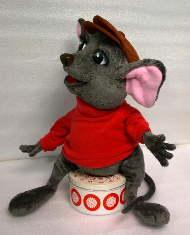 Мышь Бернард игрушка