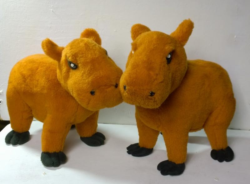 Kapibaras plush toys
