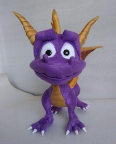Дракончик Spyro Популярные игрушки Игрушки на заказ по фото, рисункам. Шьем от 1 шт.