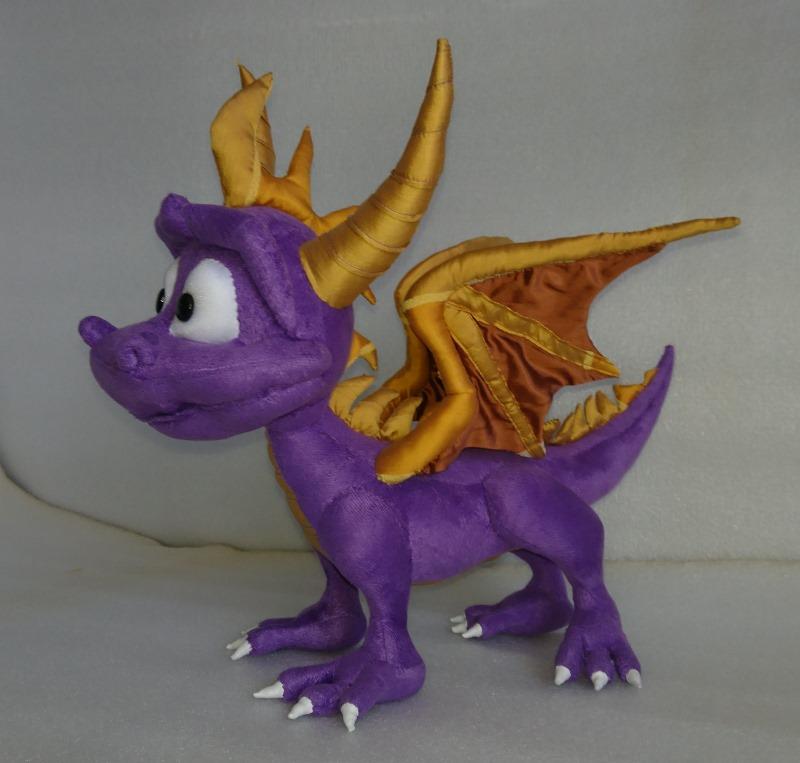 Дракончик Spyro Корпоративные игрушки Игрушки на заказ по фото, рисункам. Шьем от 1 шт.