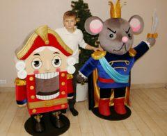 Щелкунчик и Мышиный Король ростовые куклы Мультфильмы Игрушки на заказ по фото, рисункам. Шьем от 1 шт.