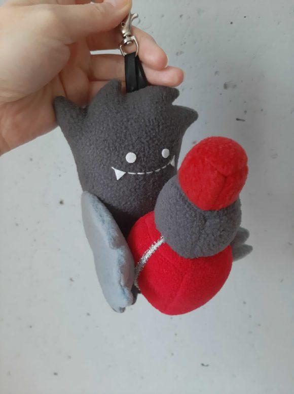 Добряк Челочка брелок-игрушка на заказ Игрушки по рисункам Игрушки на заказ по фото, рисункам. Шьем от 1 шт.