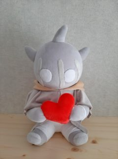 Монстрик с сердечком по рисунку Игрушки по рисункам Игрушки на заказ по фото, рисункам. Шьем от 1 шт.