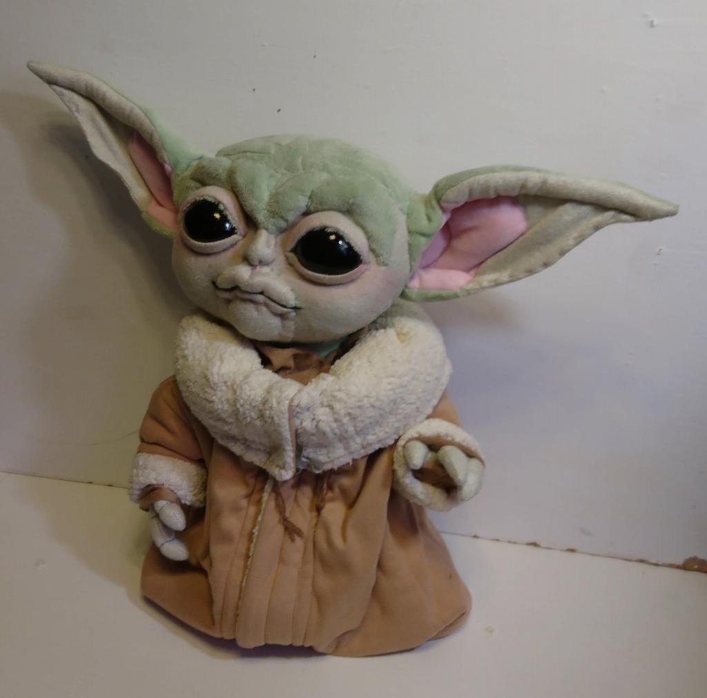 Йода малыш (Мандалорец) Игрушки по рисункам Игрушки на заказ по фото, рисункам. Шьем от 1 шт.