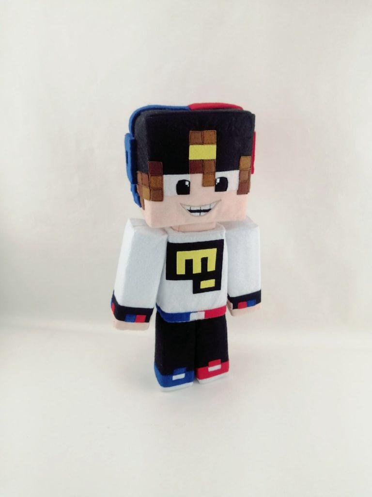 Евген Бро игрушка из вселенной Майнкрафт Игрушки по рисункам Игрушки на заказ по фото, рисункам. Шьем от 1 шт.