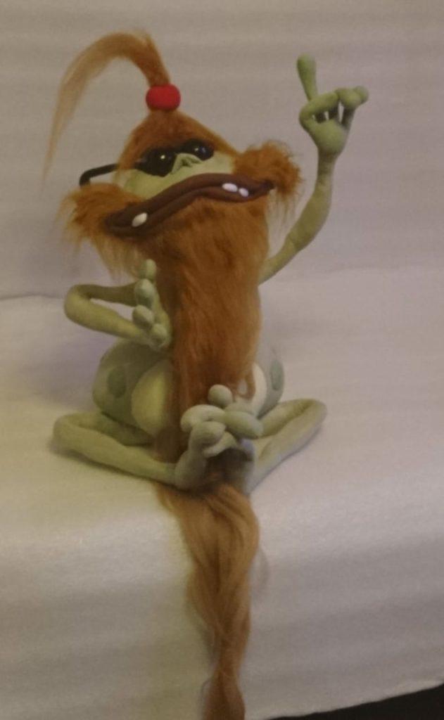 Полокус волшебник из вселенной Рэйман Игрушки по рисункам Игрушки на заказ по фото, рисункам. Шьем от 1 шт.
